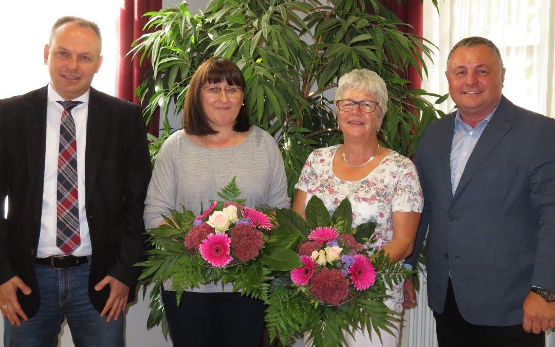 Jubiläum und Verabschiedung bei der Verbandsverwaltung